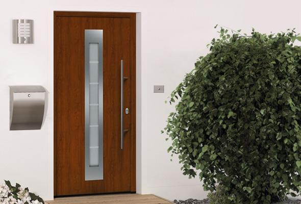 Дверь HÖRMANN RenoDoor (Dark Oak, правая)
