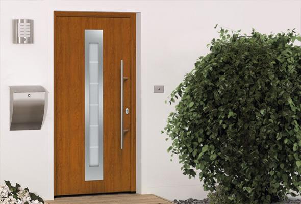Дверь HÖRMANN RenoDoor (Golden Oak, правая)