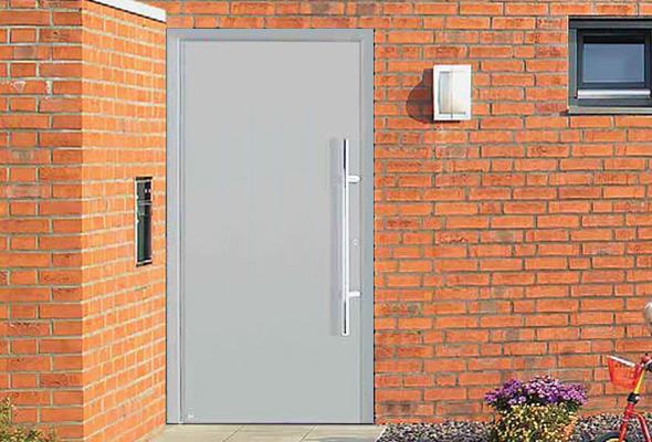 Дверь HÖRMANN RenoDoor Light (RAL 9016, левая)