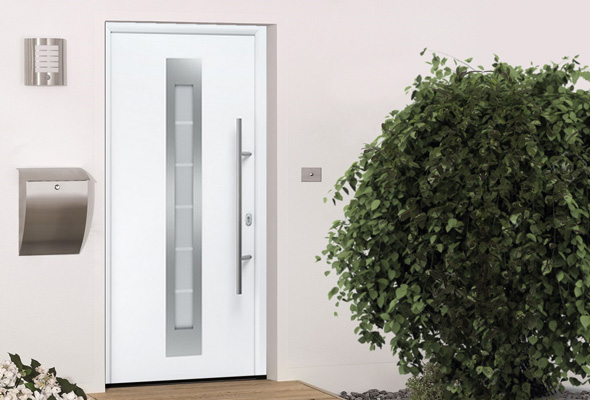Дверь HÖRMANN RenoDoor (RAL 9016, правая)