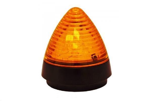 Светодиодная сигнальная лампа жёлтого цвета