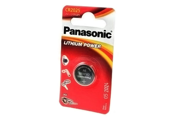 Батарейка PANASONIC LITHIUM POWER CR2025