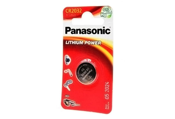 Батарейка PANASONIC LITHIUM POWER CR2032
